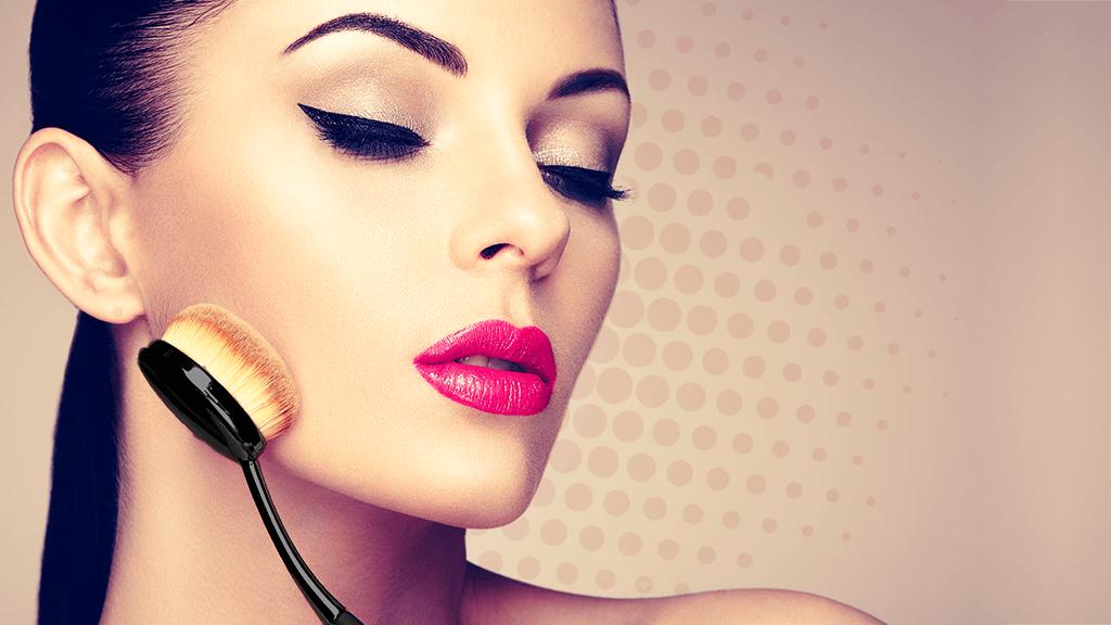 Pincéis para maquiagem: conheça a linha Curvex
